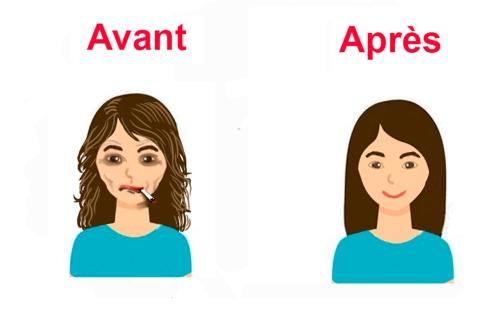tabac avant et après